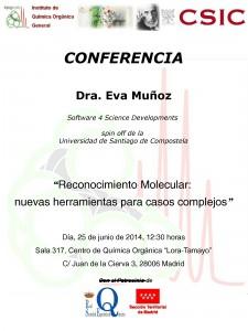 Conference póster Eva Muñoz
